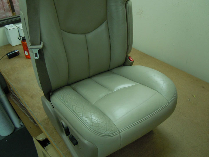 Replacement Leather Seat Covers >> Leather Seat Cover Install on 1/5/2012 - The Seat Shop