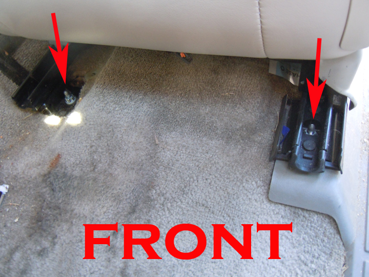Seat Covers For Trucks >> 2003 - 2006 Chevy/GMC/Cadillac Driver Bottom Written ...